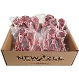 NEWZEE ラムチョップ ニュージーランド 【100%牧草ラム】 20 x 50g チョップ (合計1kg) 【冷凍】 - NEWZEE Lamb Chops from New Zealand - 20 x 50g chops (1kg) [100