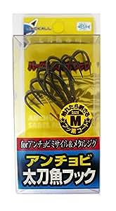 JACKALL(ジャッカル) 太刀魚フック アンチョビ太刀魚フック M 4本