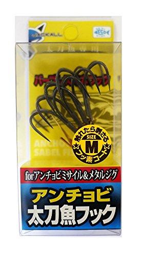 太刀魚フック アンチョビ太刀魚フック M 4本