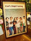 SMAP Can't Stop -LOVING-デビューシングルヤンソン額装品ガラス額No.0113