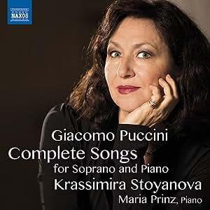 プッチーニ:ソプラノとピアノのための歌曲全集