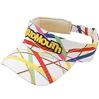 ラウドマウスゴルフ Loud Mouth Golf 帽子 サンバイザー スティクスホワイト 117 フリー