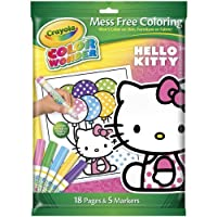 Crayola Color Wonder Hello Kitty 18 Page Coloring Pad and 5 Count Marker [並行輸入品]
