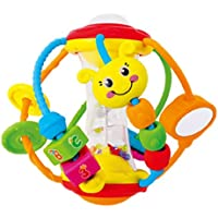 Born Beauty Baby Hand Rattle Sensory Discover & Playアクティビティball-preschool学習