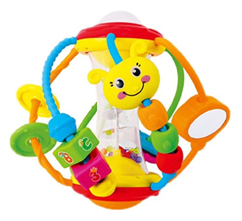 Born Beauty Baby Hand Rattle Sensory Discover & Playアクティビティball-preschool学習