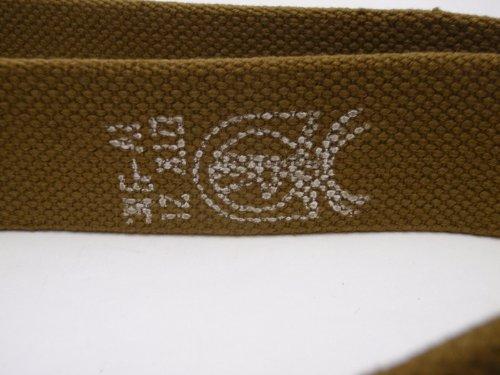 ☭ AK AKM SKS RPK キャンバス製 スリング 実物 ロシア ソビエト連邦 本物
