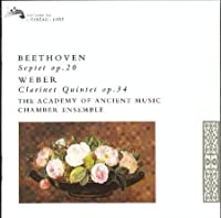 Beethoven / Weber - Septet / Clarinet Quintet by Antony Pay