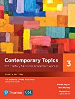 Contemporary Topics Level 3 (4E) Student Book with Essential Online Resource