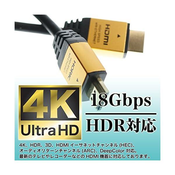 HORIC ハイスピードHDMIケーブル 3....の紹介画像4