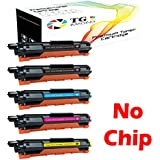 TG Imaging Compatible Toner Replacement for Brother TN223/TN227 (No Chip) (Black, Cyan, Magenta, Yellow, 5-Pack)