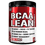Evlution Nutrition BCAA Lean Energy - Energizing Amino Acid For Muscle Building Recovery And Endurance With A Fat Burning...