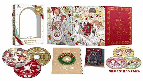 OVA「BROTHERS CONFLICT」第1巻(聖夜)豪華版 初回限定生産 [Blu-ray] / Nbcユニバーサル エンターテイメント