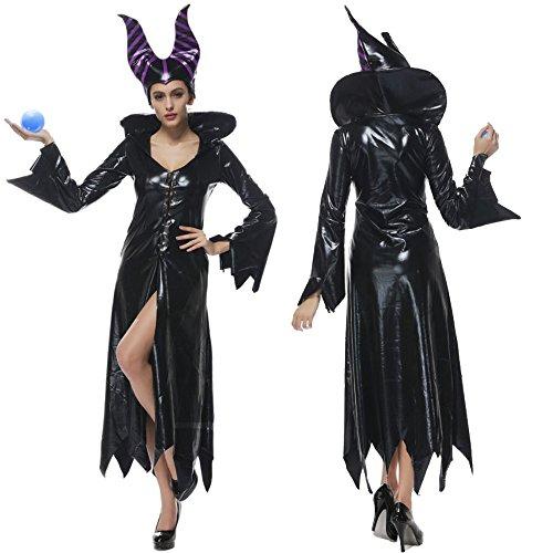 monoii 眠れる森の美女 魔女 コスプレ 魔女 コスチューム 衣装 c068