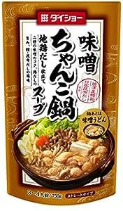 ダイショー ちゃんこ鍋 スープ 味噌味 750g×10 [33373] 鍋スープ