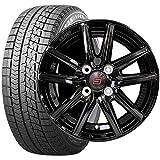 ブリヂストン (タイヤ) ブリザック VRX 155/65R14 (ホイール) ザインSS 14×4.5J PCD100/4H +45 ブラック (軽自動車用) 14インチ スタッドレスタイヤホイールセット 4本