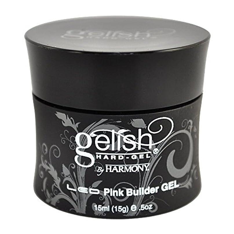 強い反逆見込みHarmony Gelish LED Hard Gel - Pink Builder - 0.5oz / 15ml