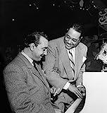 レインハルトとエリントン ナジャズ ミュージシャン ドジャンゴ レインハルトとニューヨーク市のアクアリウムのエリントン大公 写真 William P Gottlieb C1946 ポスタープリント (24 x 36)