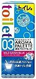 アース製薬 消臭アロマパレッ ト トイレ用 マイルドシャボンブルー 400mL