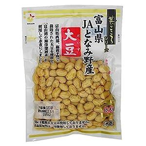 菜ごころ富山県JAとなみ野産大豆 120g×5袋