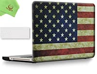 """ueswill 2in1Smooth柔らかい手触りマットつや消しハードシェルケースとシリコンキーボードカバーfor MacBook Pro +マイクロファイバークリーニングクロス MacBook Pro 15"""" (CD-ROM Drive) UES04F15P2-25"""