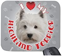 iLeesh i Love My Highland Terrier Mouse Pad [並行輸入品]