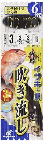 ハヤブサ(Hayabusa) 海戦吹き流し から鈎6m 3-3