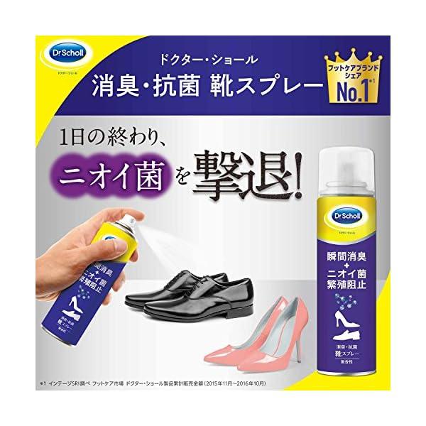 ドクターショール 消臭・抗菌 靴スプレーの紹介画像2