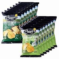 ブレッツ(Bret's) チーズポテトチップス 2種14袋セット【フランス・メキシコ 海外土産 輸入食品 スナック】
