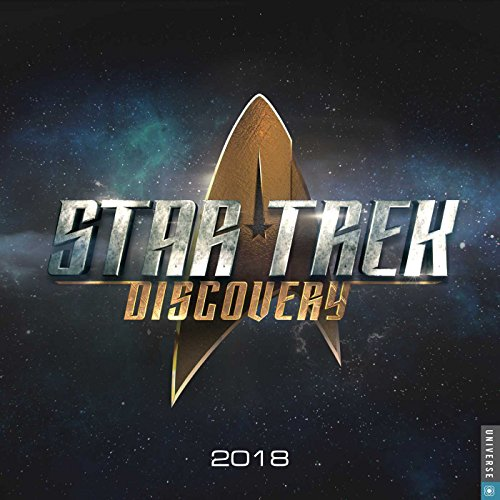 Star Trek Discovery 2018 Wall Calendar