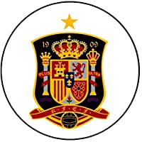 スペイン - EURO 2016 - チーム旗/エンブレム(バッジ/マグネット/キーリング栓抜き)(スペインエンブレム、キーホルダー栓抜き(58ミリメートル))