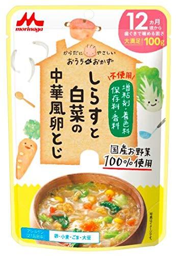 おうちのおかず しらすと白菜の中華風卵とじ 【100%国産肉・野菜】12か月頃から×12個