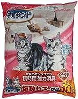 デオサンド 猫砂 複数ねこ用 紙砂 10L