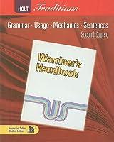 Warriner's Handbook: Second Course: Grammar Usage Mechanics Sentences【洋書】 [並行輸入品]