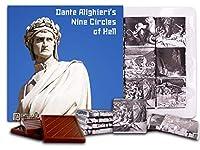 "DA CHOCOLATE キャンディ スーベニア ""ダンテアリギエーリ九円の地獄"" Dante Alighieri NINE CIRCLES OF HELL チョコレートセット 5×5一箱 (Monument)"
