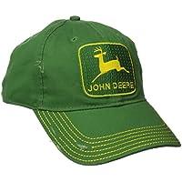 John Deere Mens 13080295GR Vintage Logo Cap Baseball Cap