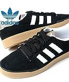 adidas Pitch Skate Style Mens Trainers - bluck/White/grey アディダス ピッチスケートスタイル メンズ ブラック ホワイト グレー メンズ 10(28),-