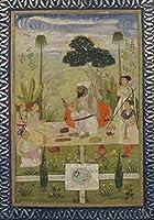 Carnet Blanc, Repas Indien, Miniature 18e (Bnf Portraits)