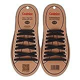 【Footful 】大人用 ノーネクタイ 弾性 シリコーン靴ひも 靴紐  結ばない  防水 簡単 ゴム くつひも