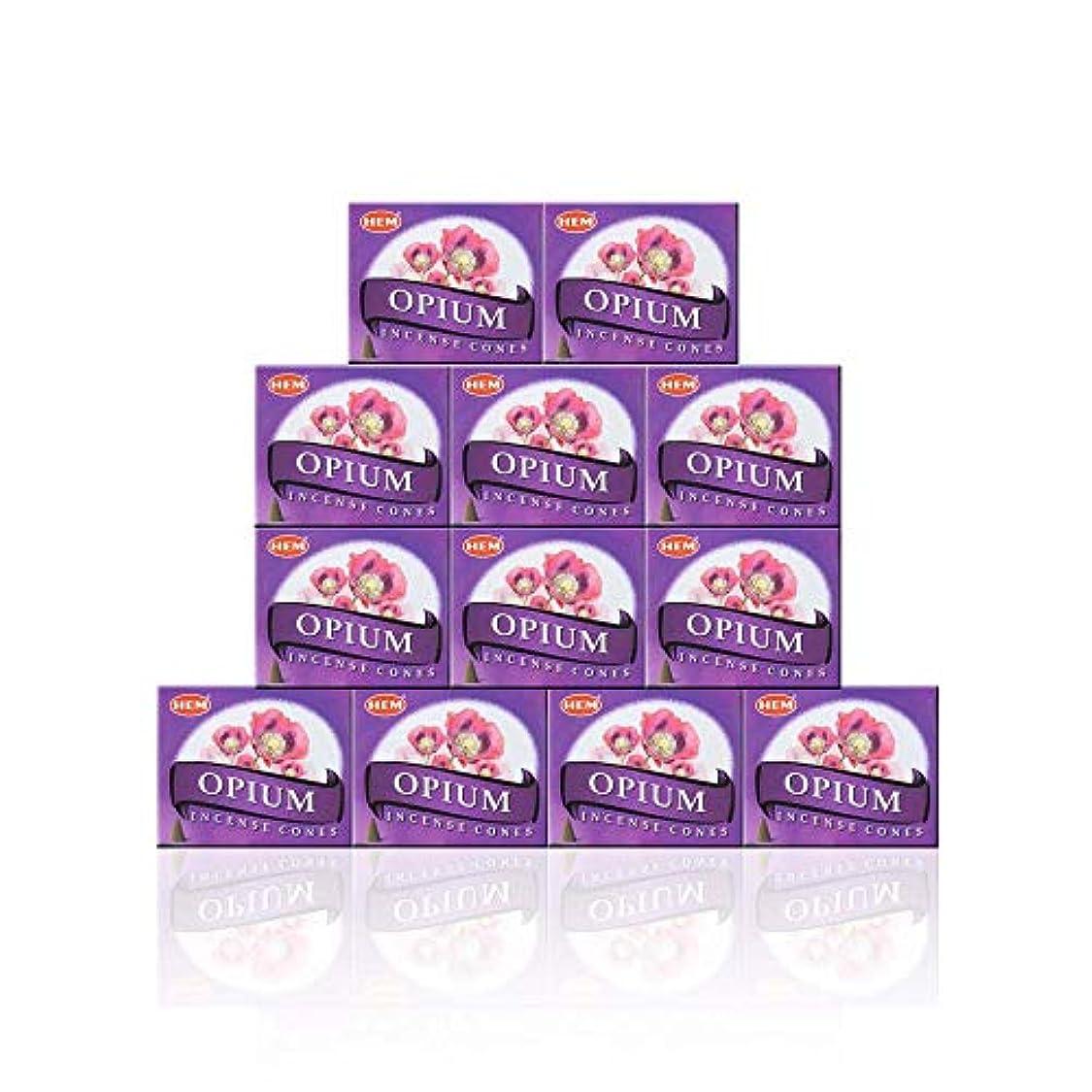 文字通りに勝る証人HEM(ヘム) オピウム香 コーンタイプ OPIUM CORN 12箱セット