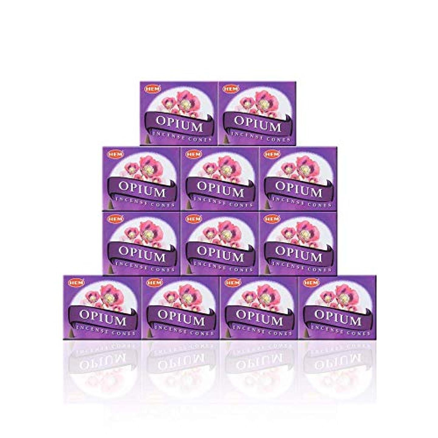インディカくるみ人気のHEM(ヘム) オピウム香 コーンタイプ OPIUM CORN 12箱セット