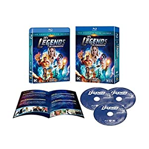 レジェンド・オブ・トゥモロー 3rdシーズン ブルーレイ コンプリート・ボックス (1~18話・3枚組) [Blu-ray]
