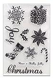 (デイリー スウィート)Daily Sweet  面白い DIY道具 クリアスタンプ クリスマスシリーズ 透明印章 印鑑 手作りスタンプ