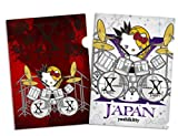 X JAPAN YOSHIKI yoshikitty(ヨシキティ) ドラム  A4クリアファイル2枚セット・2016年版