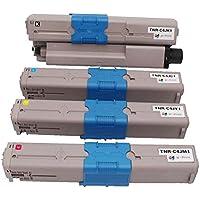 W-Print OKI用 TNR-C4JK1/C1/M1/Y1 4色セット リサイクル トナーカートリッジ 印刷枚数:トナー各色約1500枚 ISO14001/ISO9001及び国際品質規格/STMC認証/CE認証工場生産商品
