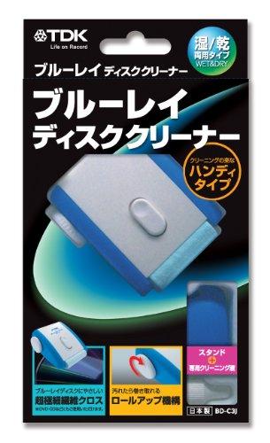 TDK ブルーレイディスク用 ハンディタイプ クリーニングクロス BD-C3J