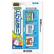 プッシュ! カードケース6 for ニンテンドー3DS ブルー