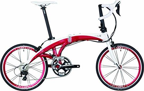 DAHON(ダホン) Mu Elite 2x11speed 折りたたみ自転車 2017年モデル 20インチ レーシーレッド 17MUELRD00