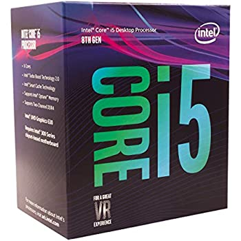 Intel CPU Core i5-8400 2.8GHz 9Mキャッシュ 6コア/6スレッド LGA1151 BX80684I58400【BOX】【日本正規流通品】