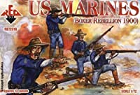 Red Box Figures US Marines Boxer Rebellion 1900 (48-Piece) (1/72-Scale) [並行輸入品]