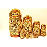 AlkotaロシアAuthentic Collectible Nesting Doll